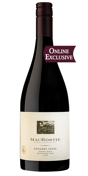 2018 Rodgers Creek Pinot Noir