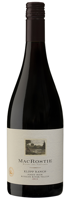 2016 Klopp Ranch Pinot Noir