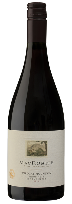 2016 Wildcat Mountain Pinot Noir